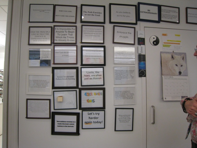 The Wall of Inspiration