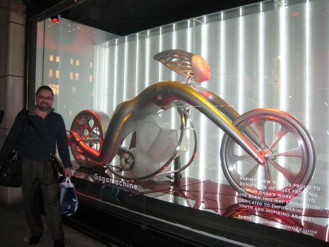The Gaga Machine @ Barney's New York