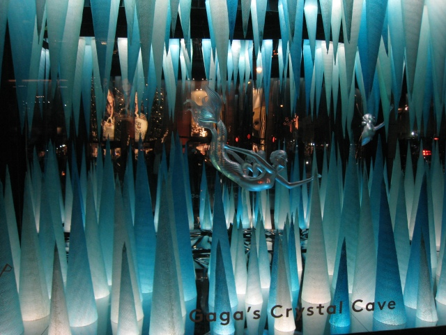 Gaga's Crystal Cave @ Barney's New York