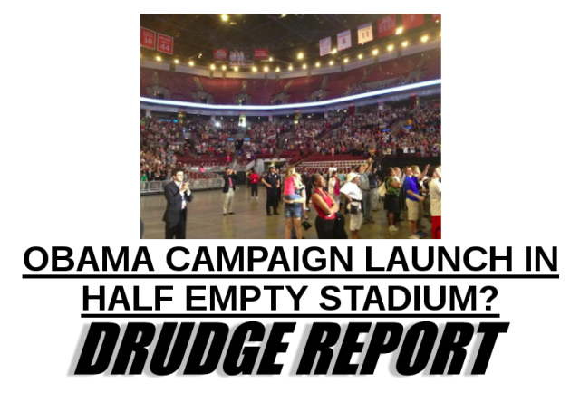 Obama Columbus Kick-Off Rally a la Drudge