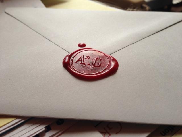 Sealed letter from Primrose